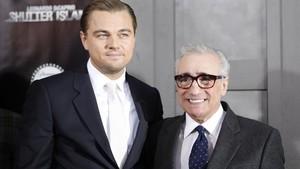 Martin Scorsese y Leonardo DiCaprio, en el 2010.