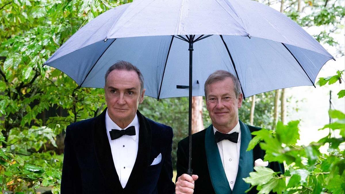 La familia real británica celebró el primer matrimonio gay