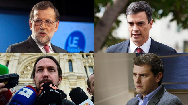 Los líderes políticos españoles condenan los atentados de Bruselas.
