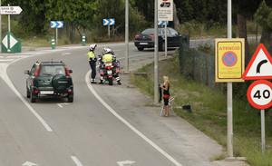 Prostitución en una carretera catalana.
