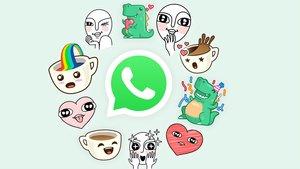 Imagen promocional de los stickers de WhatsApp