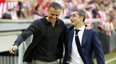 El Barça cambia de piloto: Valverde por Luis Enrique