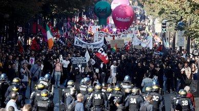 Los sindicatos franceses vuelven a la calle