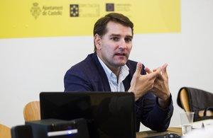 Manuel de la Rocha Vázquez, director del Departamento de Asuntos Económicos y G20 del Gabinete de la Presidencia del Gobierno, el pasado 29 de agosto de 2020.