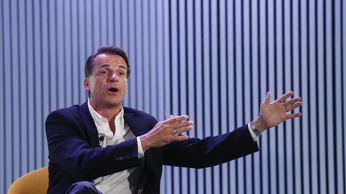 Markus Dohle, en Barcelona.