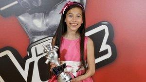 Melani, ganadora de 'La voz kids', representante de España en Eurovisión Junior