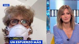 """Mercedes Milá defiende su viaje a Italia durante el coronavirus: """"En Roma había menos enfermos que en Madrid"""""""