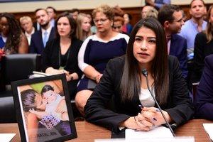 Yazmin Juárez, madre deMariee quien murió en un centro de detención en Texas.