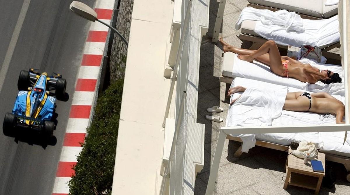 Mónaco es un lugar especial y a su glamour añadira la preencia de azafatas en la parrilla de F-1.