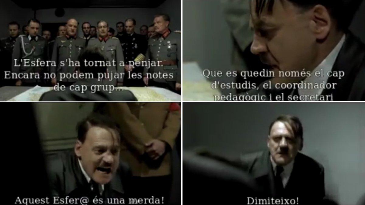 Hitler también se rinde al caótico 'software' de las notas escolares