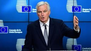 El negociador jefe de la UE, Michel Barnier.