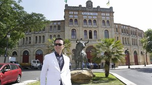 Una foto de archivo de Ortega Cano, enla plaza de toros de El Puerto de Santa Maria, en Cádiz, el 5 de junio del 2015.