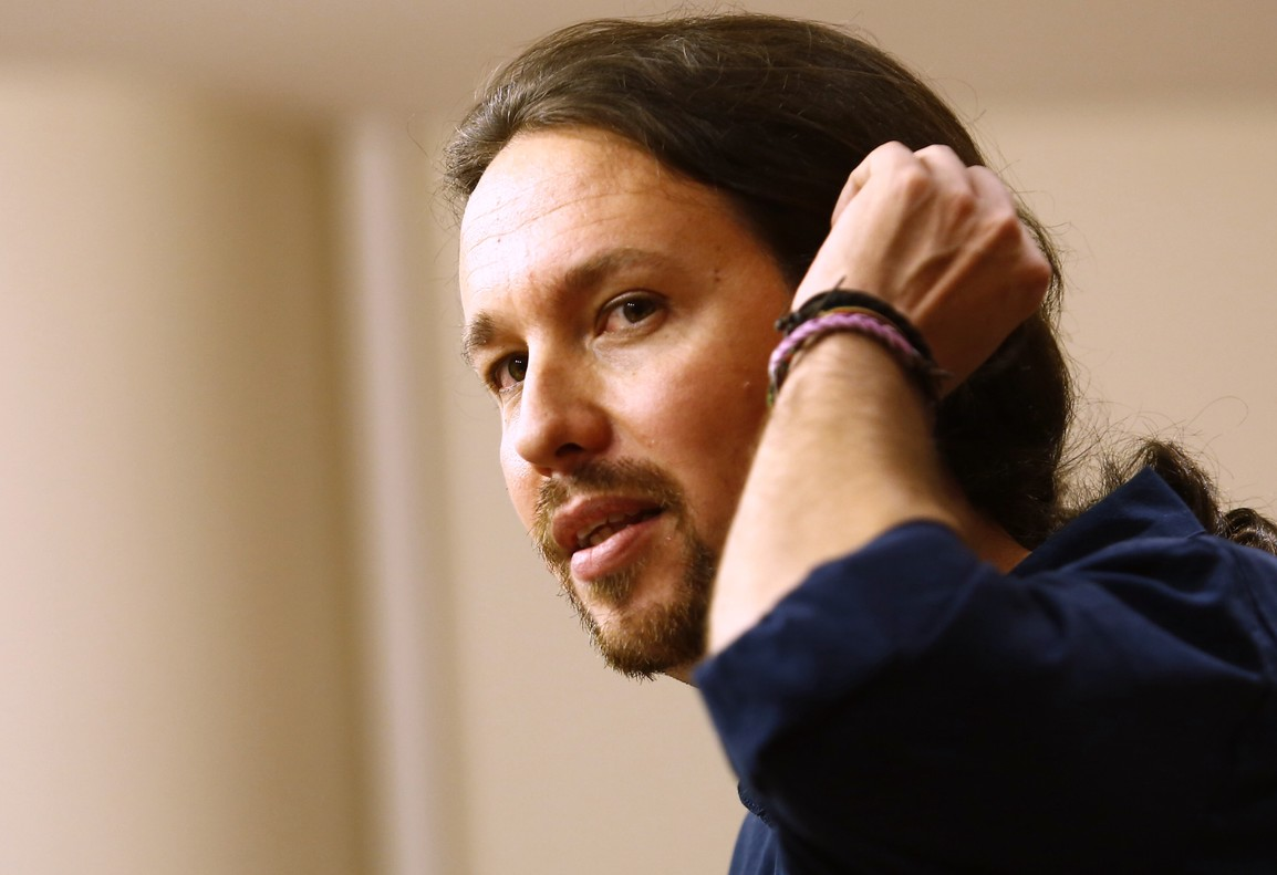 Pablo Iglesias, líder de Podemos.