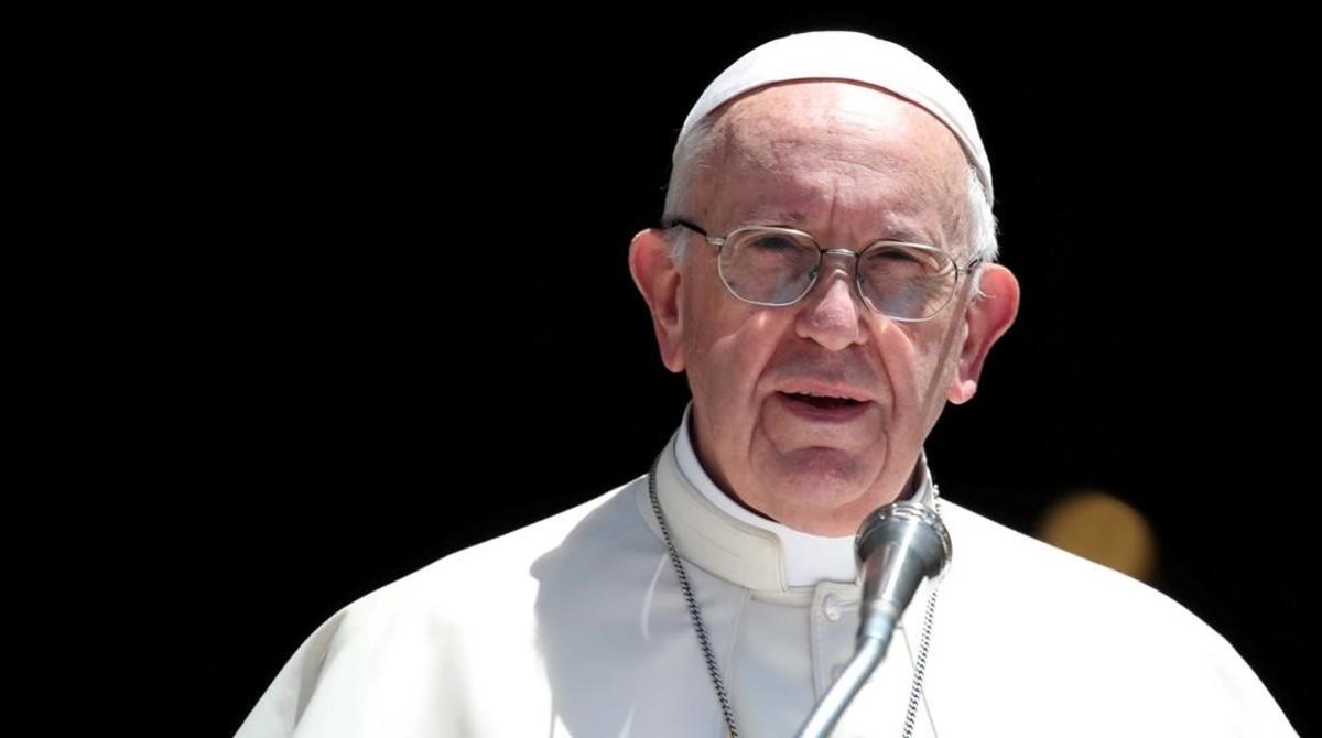 El papa Francisco, en un acto en la ciudad italiana de Bari.