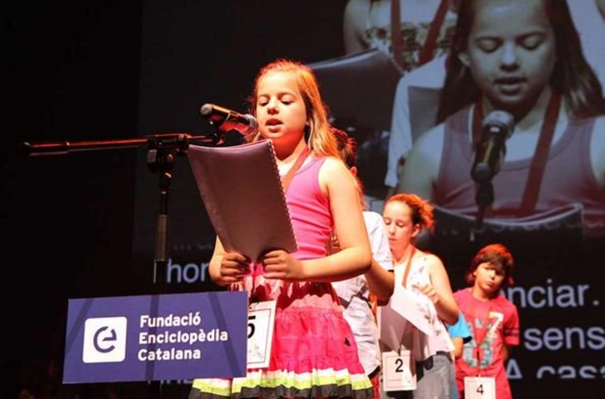 Participante del 14 Certamen Nacional de Lectura en Veu Alta.