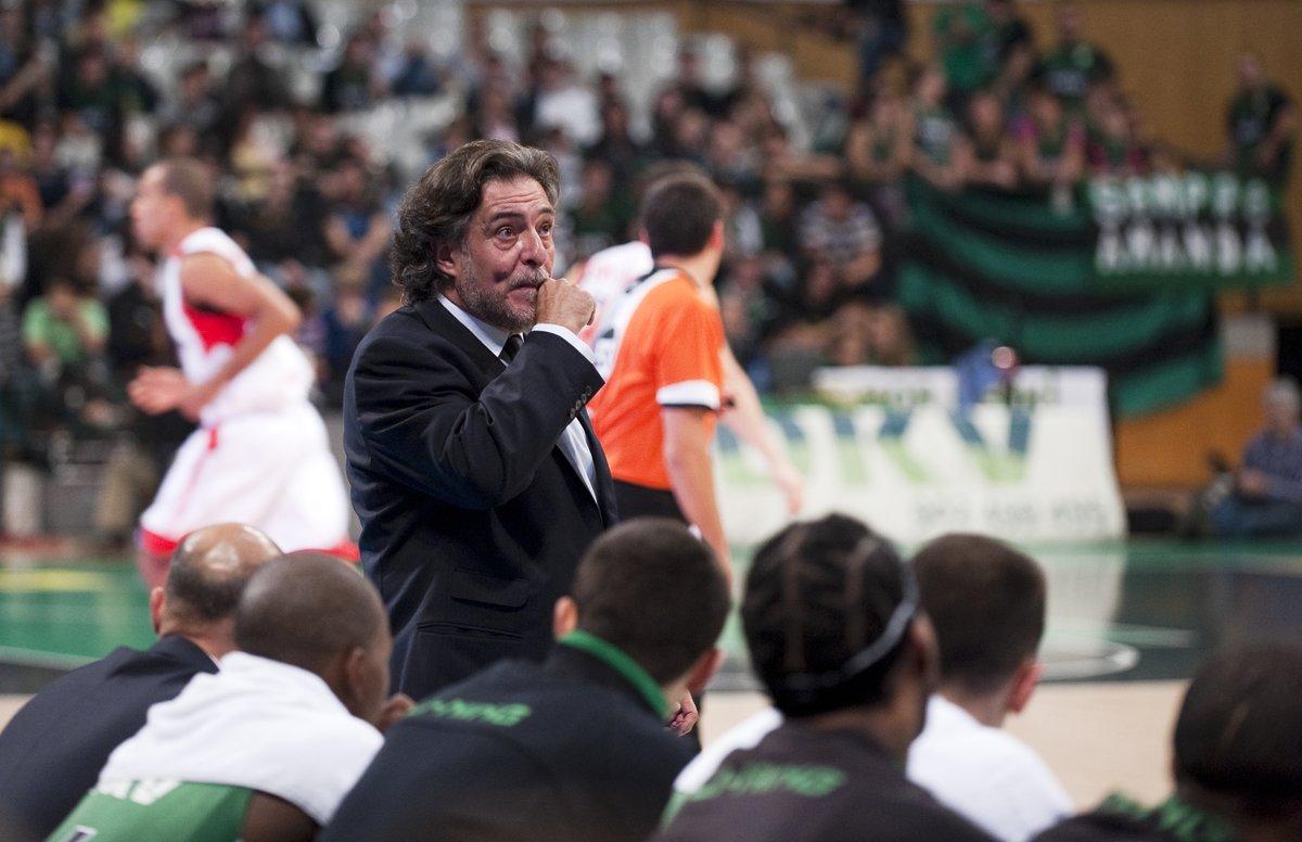 Pepu Hernández, durante un partido con el Joventut.