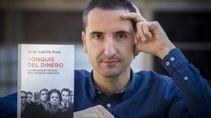 El periodista Sergi Castillo, autor del libro Yonquis del dinero. Las diez grandes historias de la corrupción valenciana.