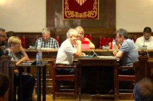 Imagen del Pleno municipal de Esplugues de este miércoles