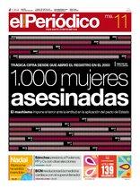 La portada de EL PERIÓDICO del 11 de junio del 2019.