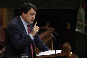 El portavoz del PNV en el Congreso, Aitor Esteban, en una foto de archivo.