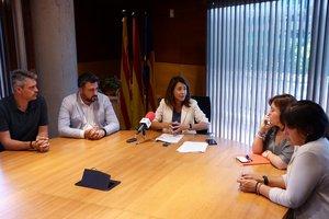 Presentación del nuevo cartapacio municipal del Ayuntamiento de Gavà