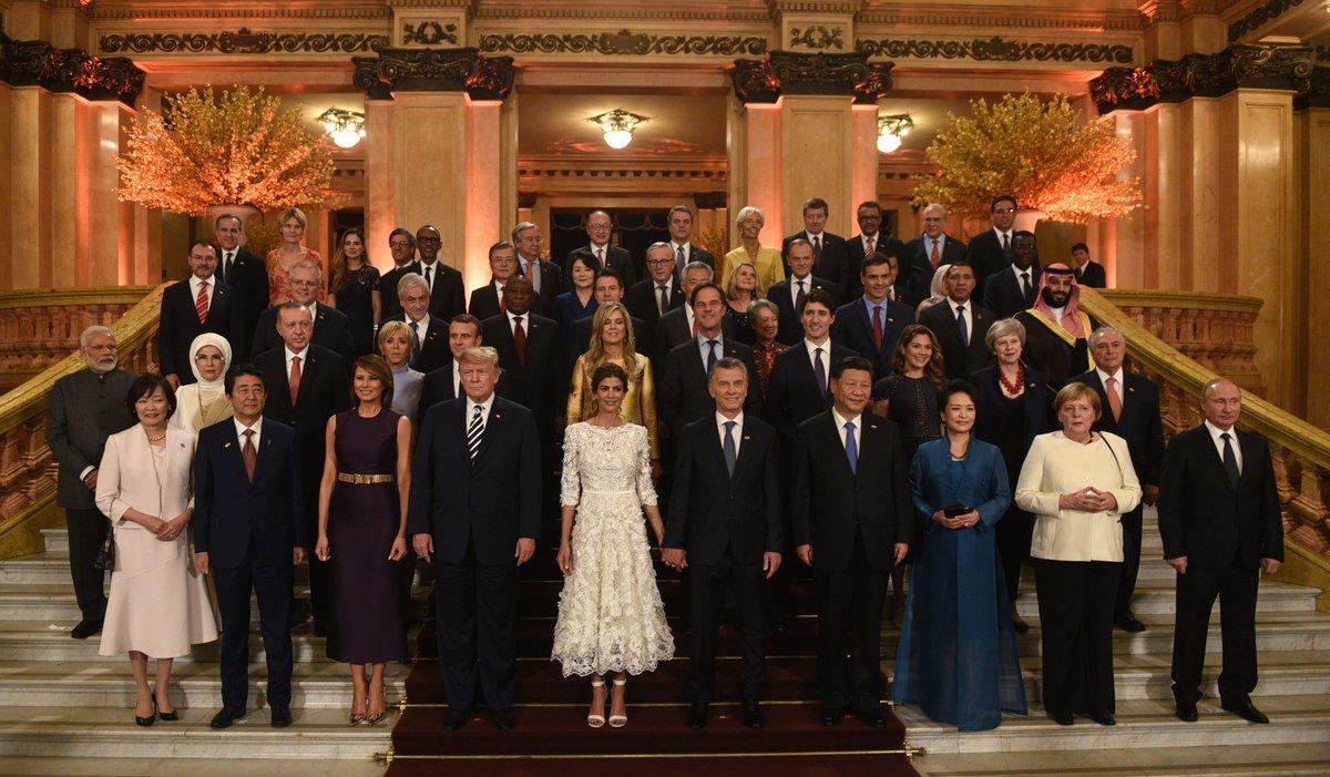 Los líderes del G20 eligen el teatro en el primer día de reunión