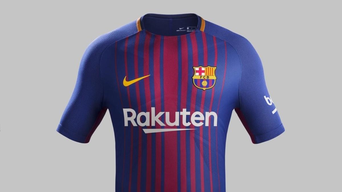 Así es la próxima camiseta del Barça