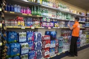 Reponedor en un supermercado.