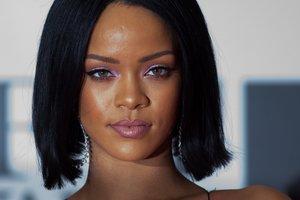 Rihanna, en la edición de los Brit Awards del 2016.