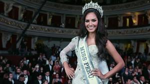 Romina Lozano, elegida miss Perú.