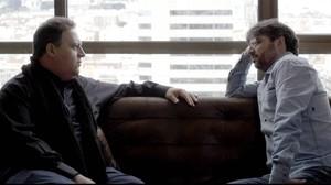 Sebastián Marroquín y Jordi Évole, durante la entrevista en 'Salvados'.