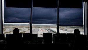 Torre de control delAeropuerto Madrid-Barajas.