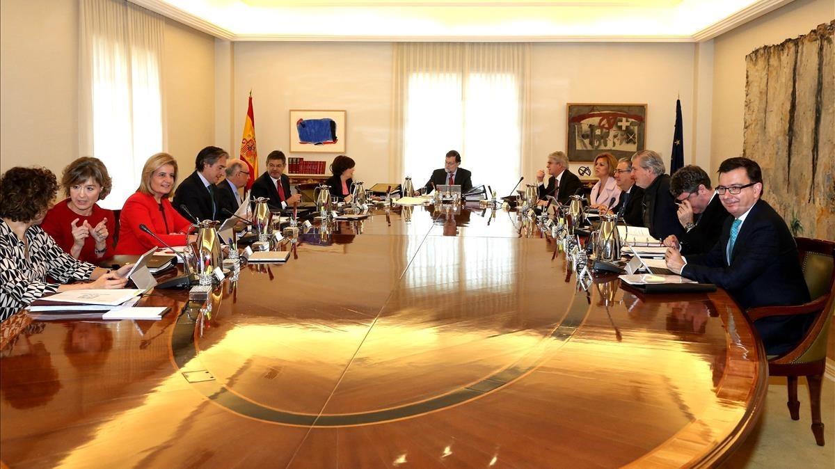 Una reunión del Consejo de Ministros.