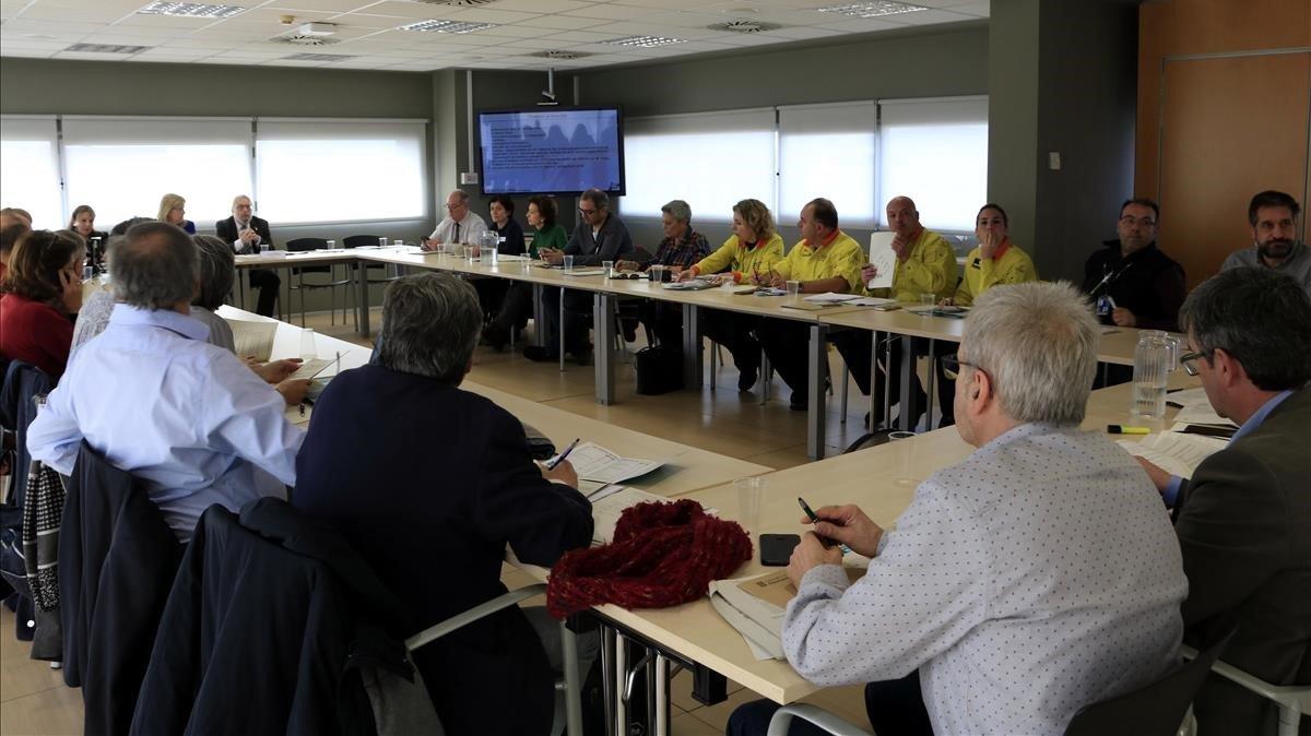 Comitè d'Anàlisi i Seguiment de Malalties Transmissibles Emergents d'Alt Risc en la Agància de Salut Pública de Catalunya (Aspcat), este lunes.