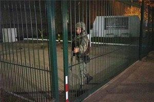 Instalaciones delBatallón número 13 del Ejército de Uruguay.
