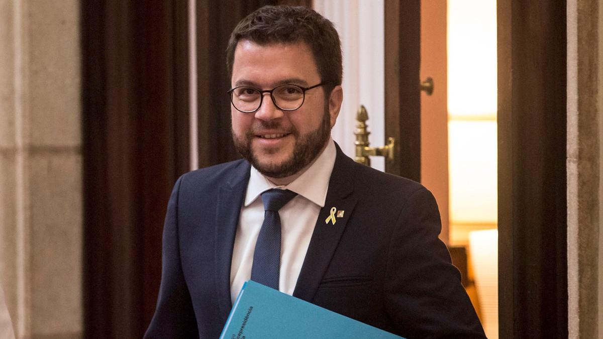 El vicepresidente del Govern y conseller de Economía, Pere Aragonès.