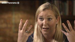 Virginia Roberts Giuffre en la entrevista ofrecida por BBC Panorama.
