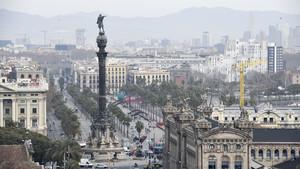 Imagen de la ciudad de Barcelona.