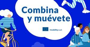 Portada de la web de la Semana Europea de la Movilidad en Madrid.
