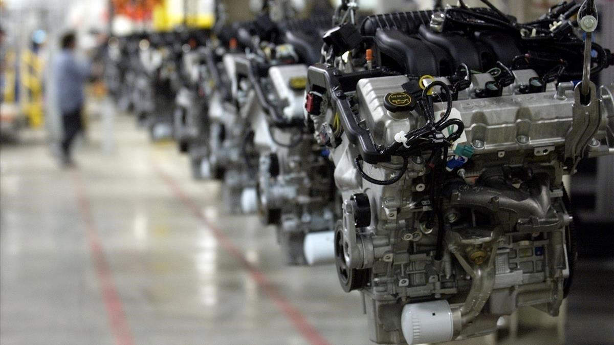 L'activitat manufacturera dels EUA es contreu per primera vegada des del 2016
