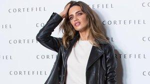 Sara Carbonero,el pasado 17 de octubre, en la presentaciónde Cortefiel en Madrid.