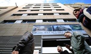 La antigua sede de Convergència, en la que se proyectan 11 pisos que van a necesitar 11 archimillonarios como compradores.