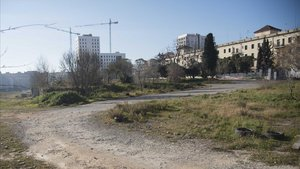 Barcelona ofereix al COI el 'solar dels legionaris' de Sant Andreu