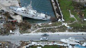 La destrucción causa por el huracán Dorian en Las Bahamas el setiembre pasado.