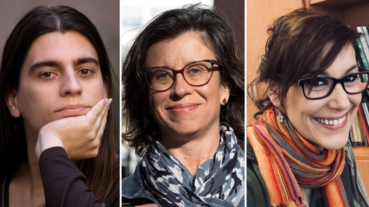 Aurora Ranchal, Olga Alcaraz y Gemma del Caño