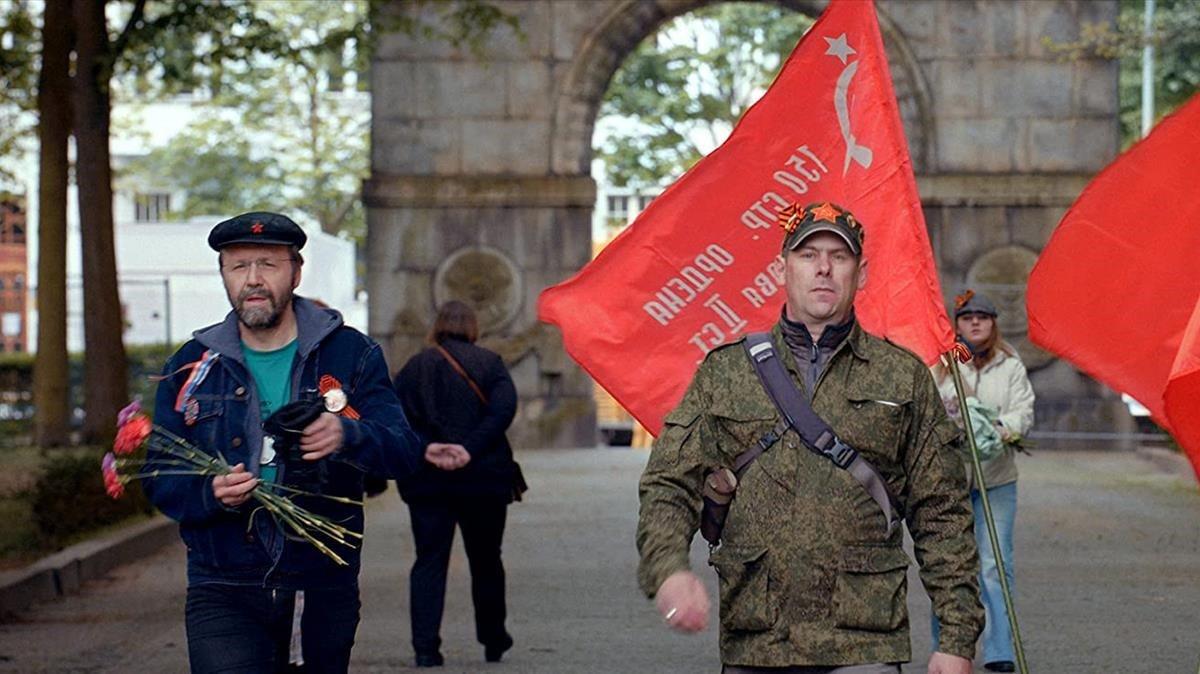 Fotograma de 'Victory day', documental de Sergei Loznitsa.