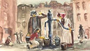 El cólera en el Londres victoriano