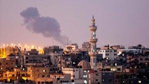 El ejército israelí ha atacado objetivos militares de Hamas.
