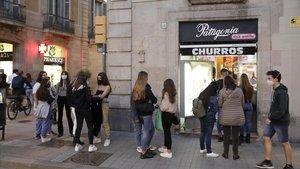 Generalitat i experts a la reclusió voluntària contra la Covid