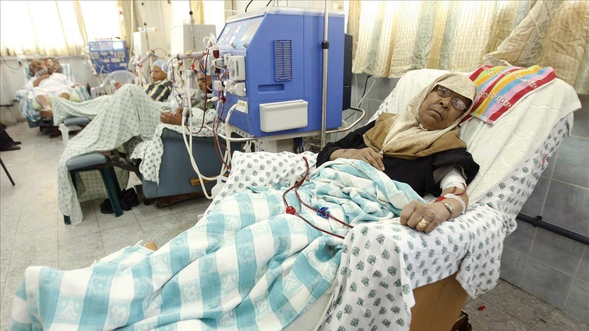 Morir de càncer esperant un permís per sortir de Gaza
